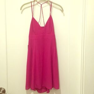 BRAND NEW FUCHSIA SLIP DRESS ( Tags Still On)